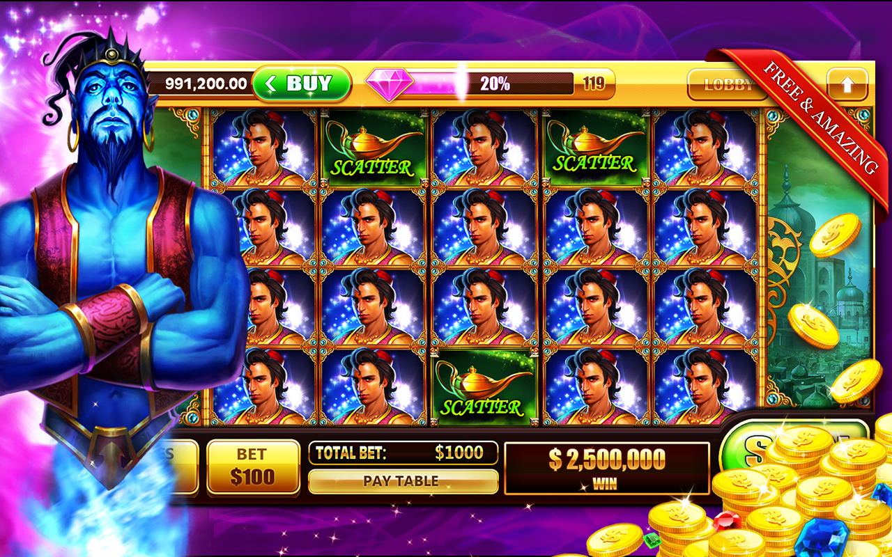 Play Free Slot Machine Games