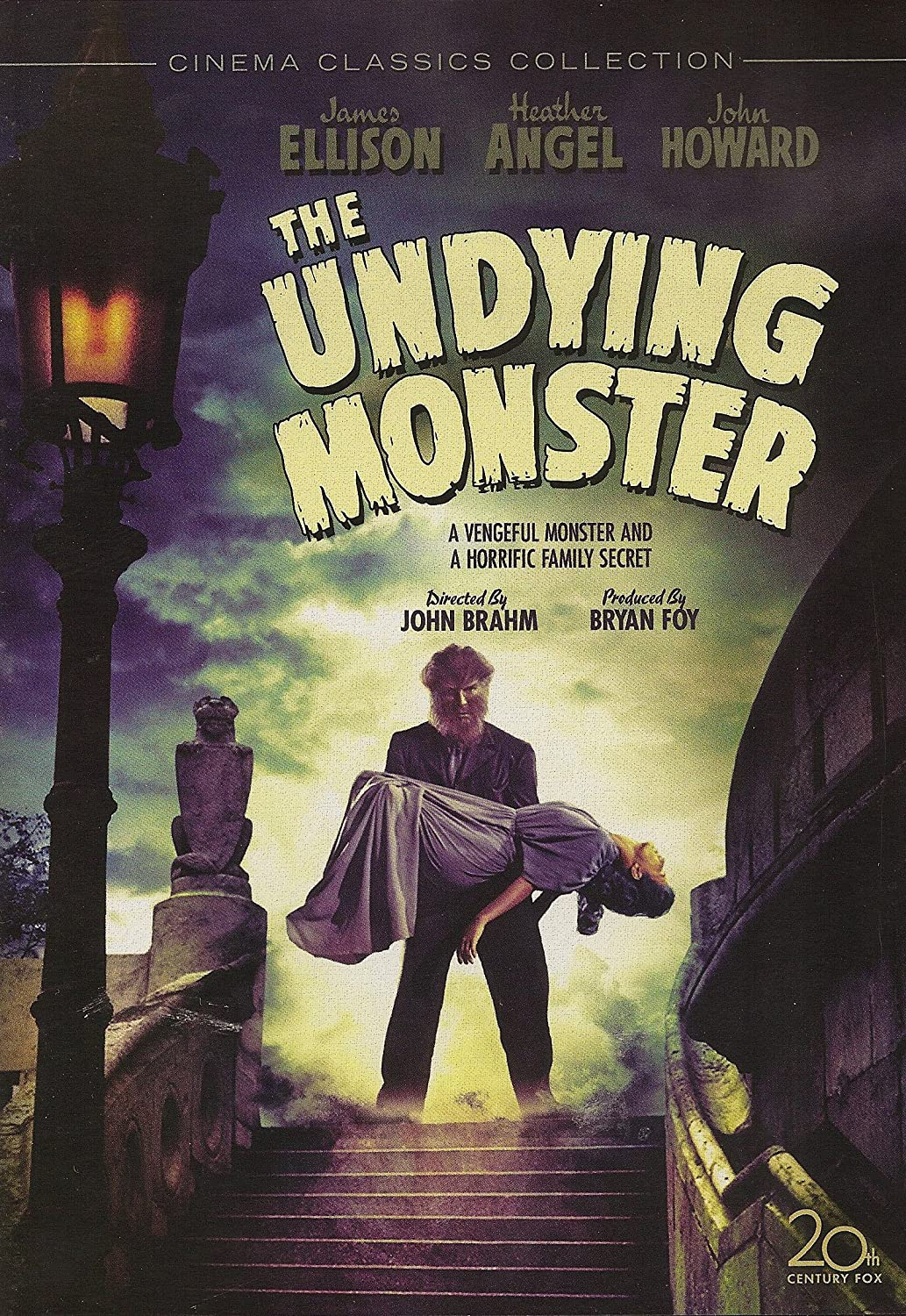 The Undying Monster Cover