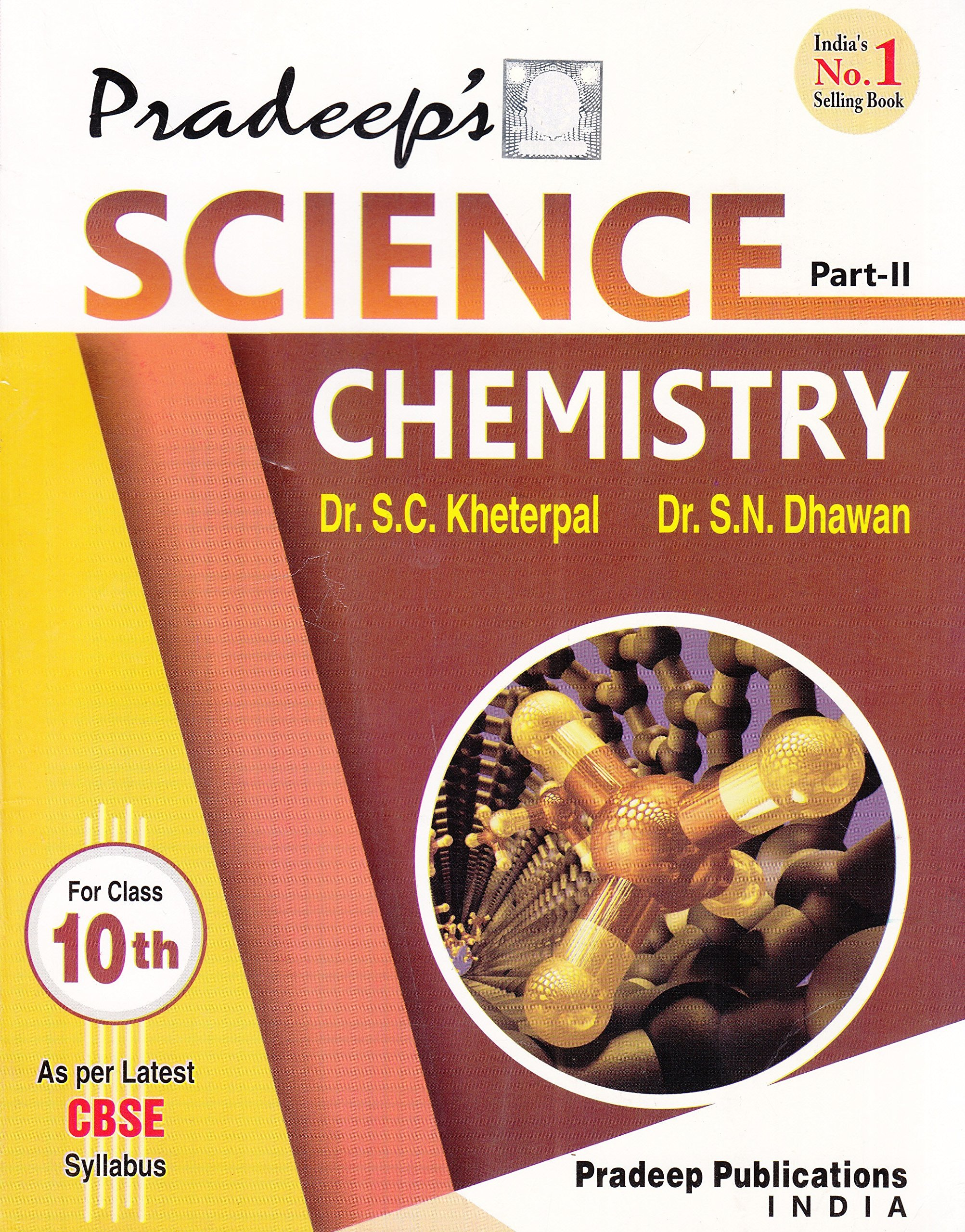Pradeep s science chemistry for class x part ii 2017 18 edition