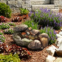 Go Yard Cascading Stone Fountain