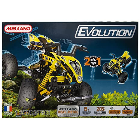 Meccano - 865210 - Jeu de Construction - Quad Evolution