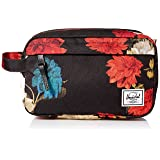 Herschel Supply Co. Chapter Neoprene Toiletry/Dopp Kit, Vintage Floral Black (Color: Vintage Floral Black, Tamaño: One Size)