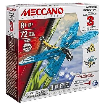 Meccano - 6033321 - Jeu de Construction - Insectes 3 Modèles