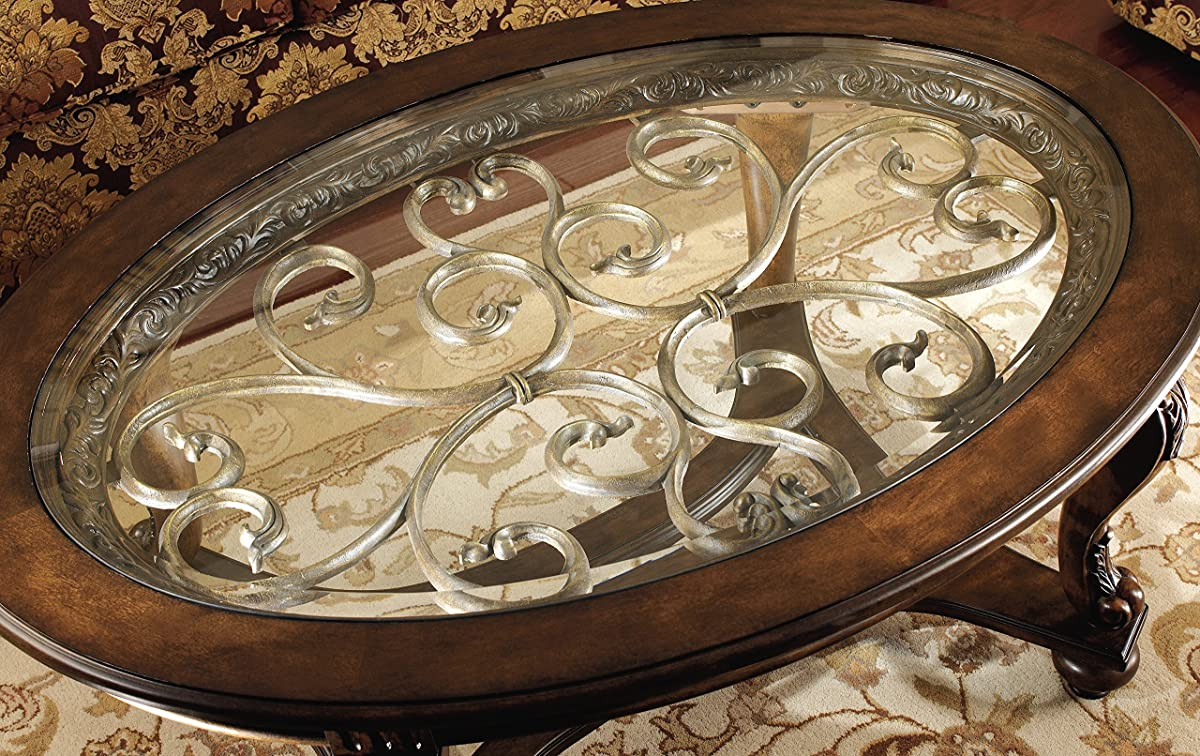 Ashley Furniture Glass Top Coffee Table