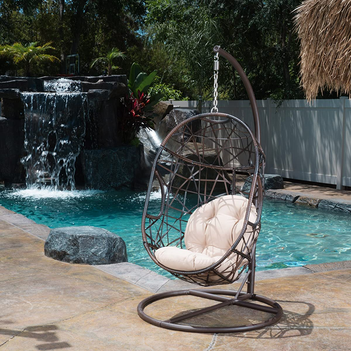 Guerneville Patio Furniture Outdoor ~ Indoor Egg-Shaped Hanging Chair