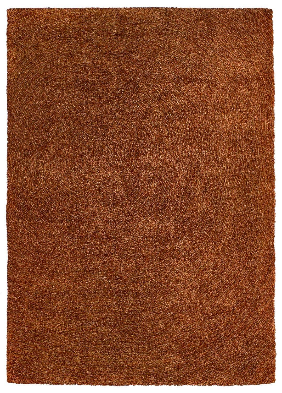 """TEPPICHWELT SONA-LUX Teppich handgetuftet orange """"Größe auswählen"""" 140 x 200 cm"""