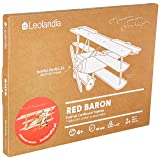 Leolandia Red Baron Creative DIY Cardboard Airplane Model