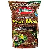 Hoffman 15503 Canadian Sphagnum Peat Moss, 10 Quarts (Tamaño: 1)