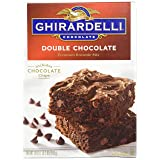 Ghirardelli Double Chocolate Brownie Mix, 18-Ounces