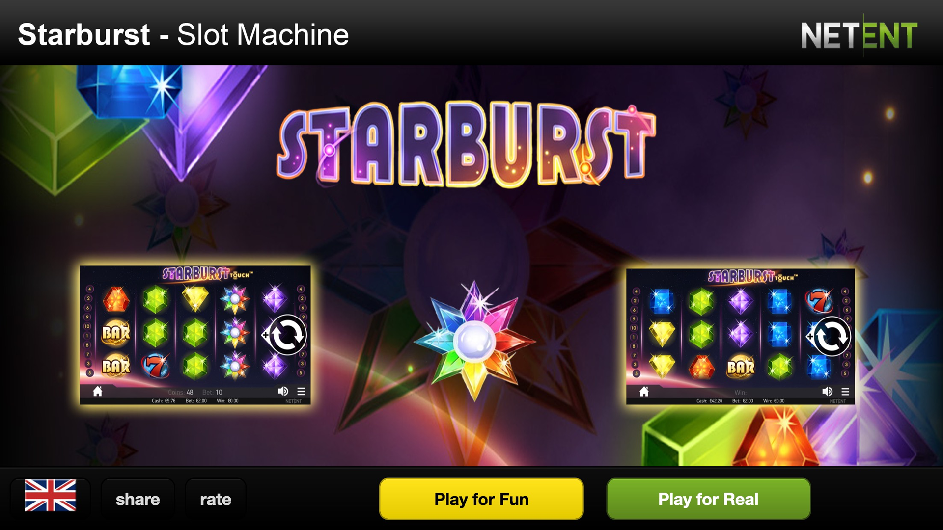 online casino slot machines starbrust