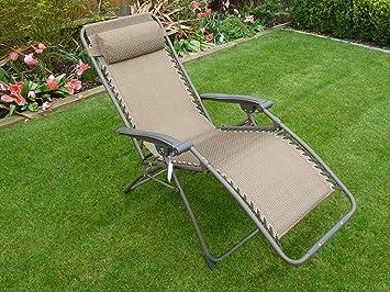 Chaise De Jardin Relax Transat Chaise Longue