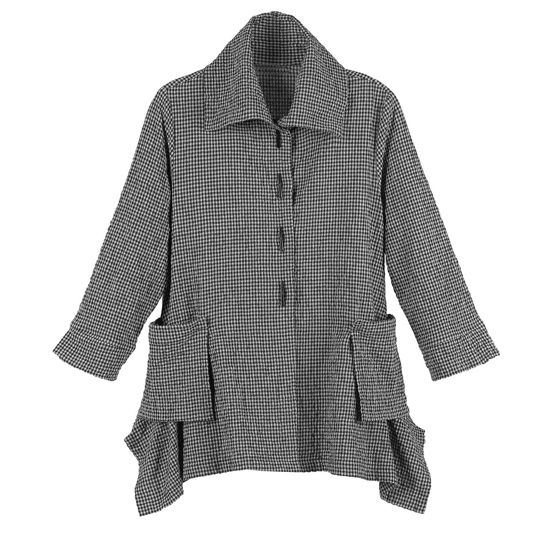 Женская стеганая куртка Signals Women's Checked Seersucker Jacket