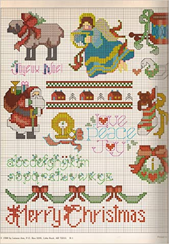 Cross Stitch Merry Yuletide Christmas Designs. Lovely 30 + (Leisure Arts 594, Leisure Arts 594)