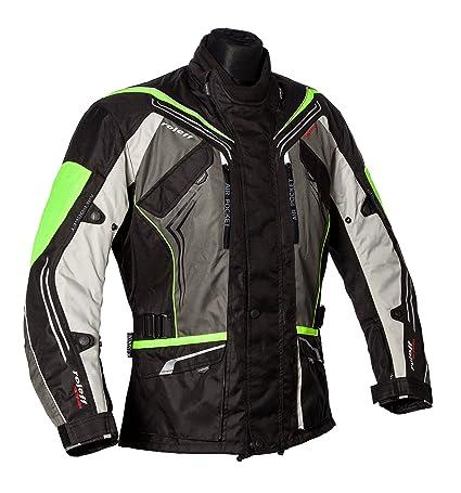 Roleff Racewear 151137 Veste Moto Turin, Néon Jaune, Taille XXXL
