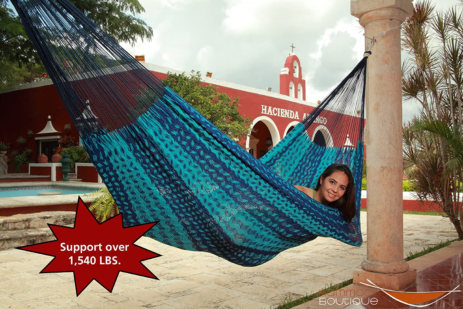Heavy Duty Hammocks For Large People Up To 1500 Lbs For