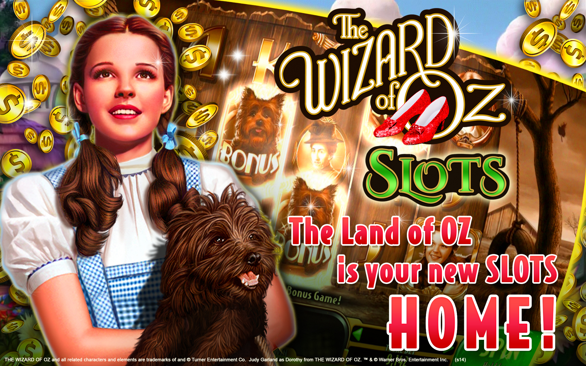 Wizard Of Oz Casino Slot Machine
