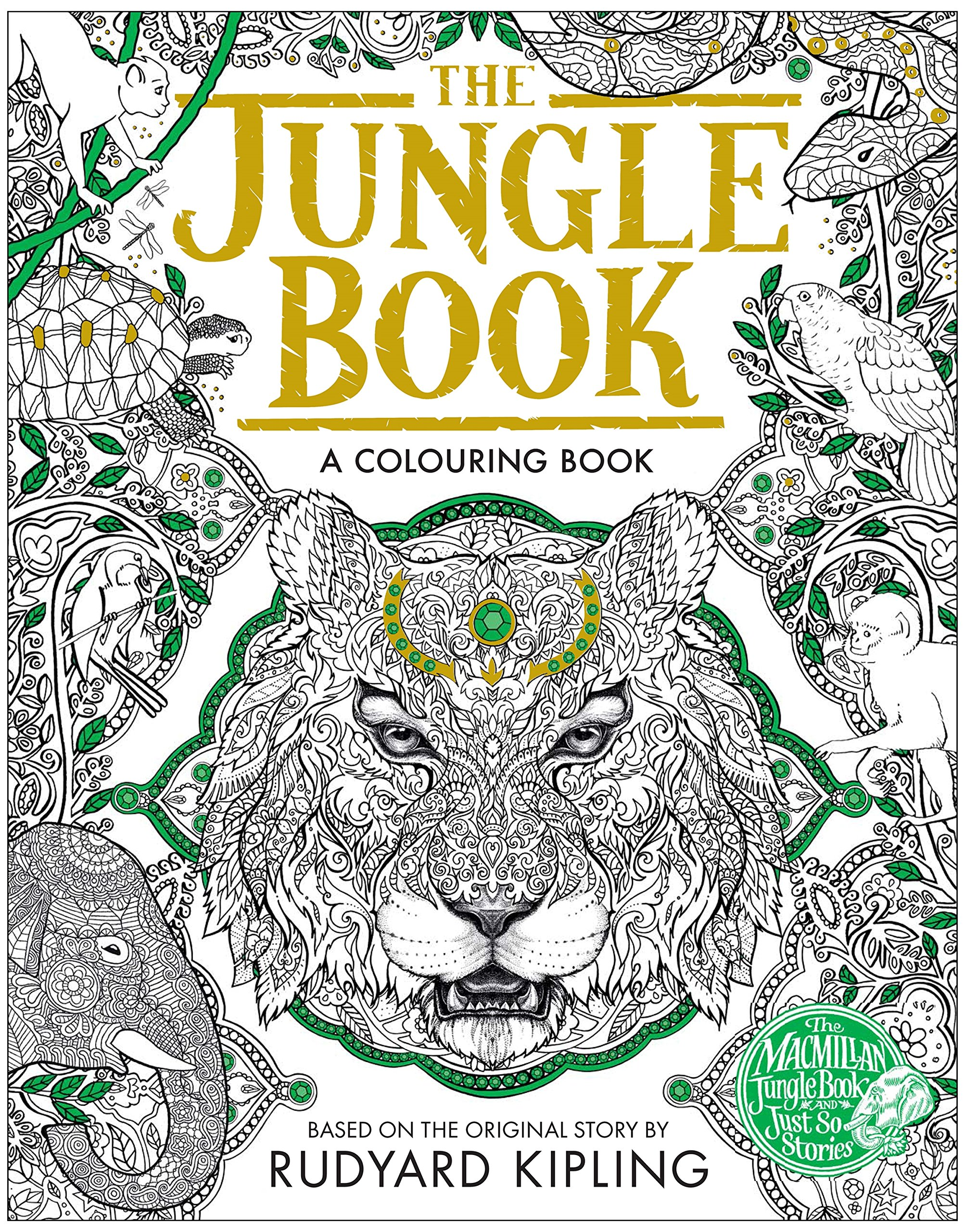 Colouring book on online - Buy The Macmillan Jungle Book Colouring Book Macmillan Classic Colouring Books Book Online At Low Prices In India The Macmillan Jungle Book Colouring