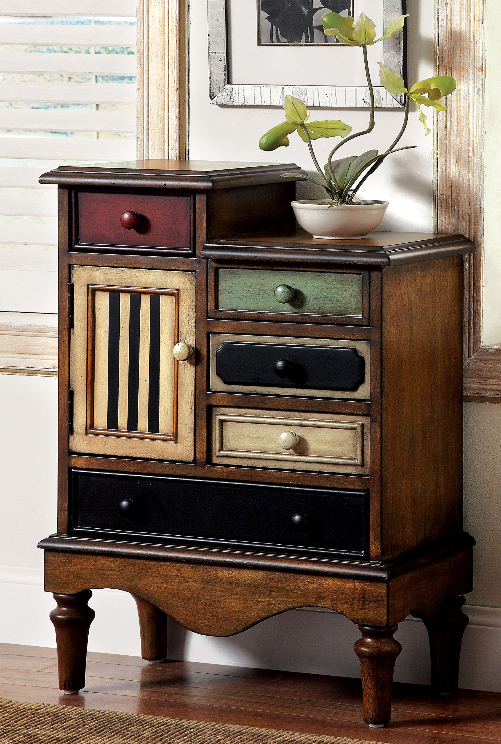 Furniture Of America Circo Vintage Style Storage Chest