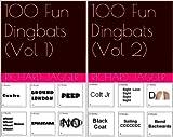 100 Fun Dingbats (2 Book Series)