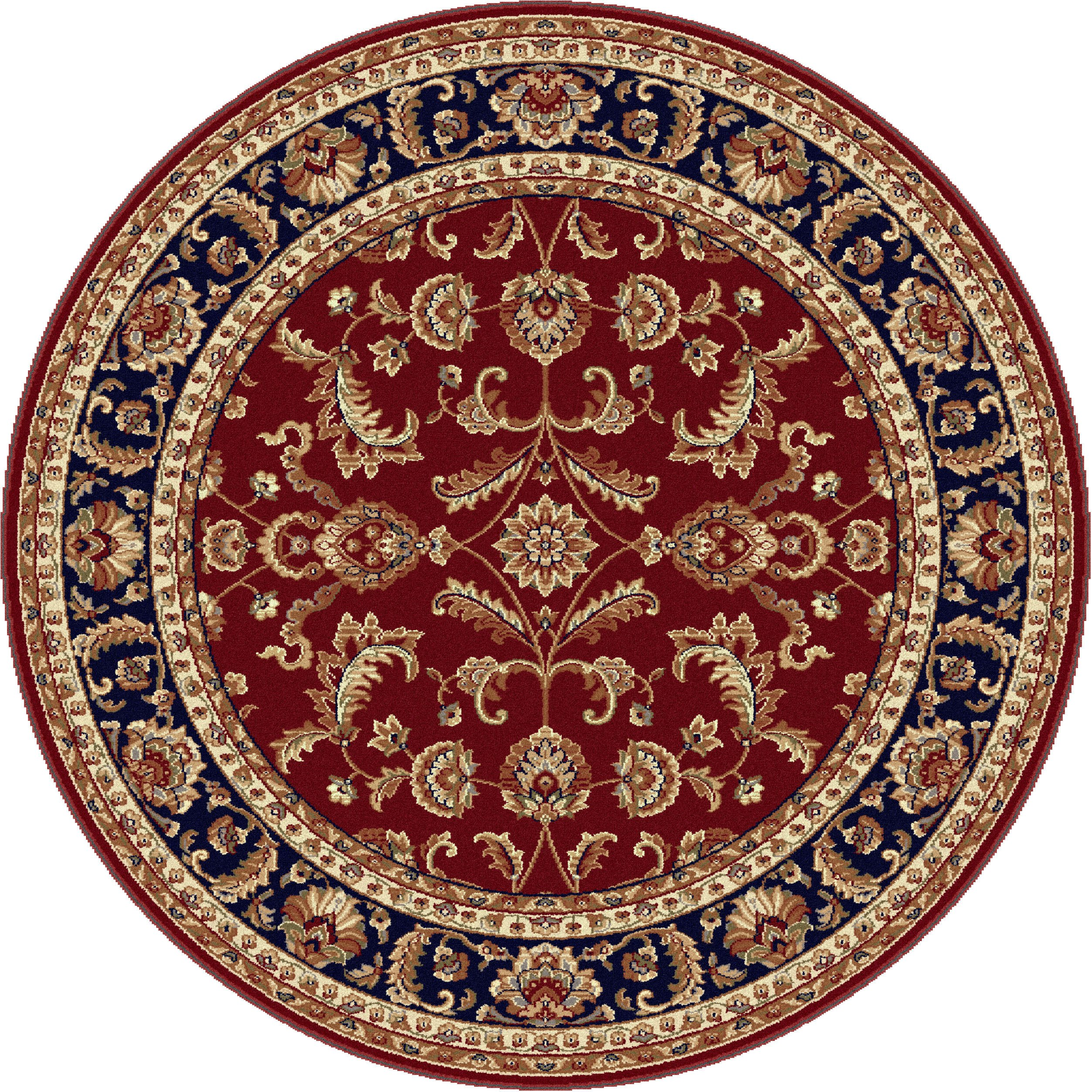 Universal rugs transitional oriental 5 ft 3 in round for Round carpets and rugs
