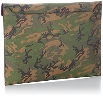 Fin-Calf Masseto Camouflage: Green