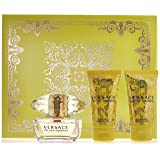 Versace Yellow Diamond 3 Piece Gift Set for Women, packaging may vary (Tamaño: Gift set 2)