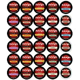 Custom Variety Pack Indulgio Cappuccino and Hot Chocolate Keurig K-Cups Variety Sampler Pack, 30 Count (Compatible with 2.0 Keurig Brewers)