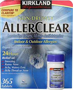 Kirkland Signature AllerClear 365 Tablets