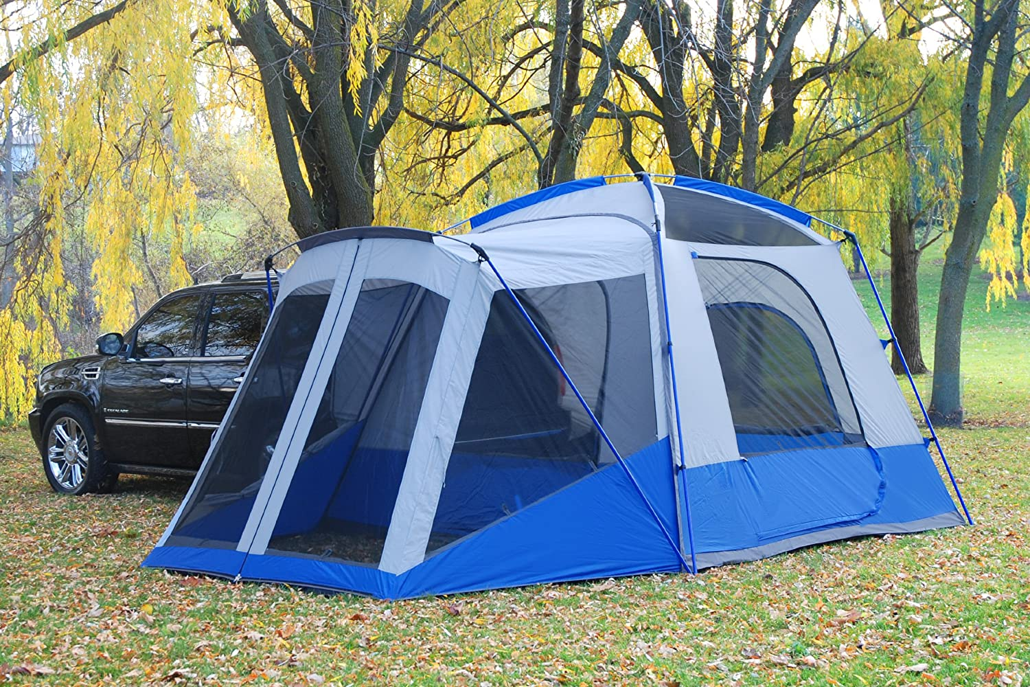Napier Sportz SUV tent with screen room & LUXURY CAMPING TENTS | Reviews Comparisons Ratings