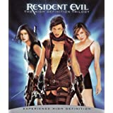 Resident Evil: The High-Definition Trilogy (Resident Evil / Resident Evil: Apocalypse / Resident Evil: Extinction)