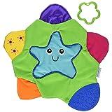 The First Years Star Teething Blanket,Multi (Color: Multi, Tamaño: 1)