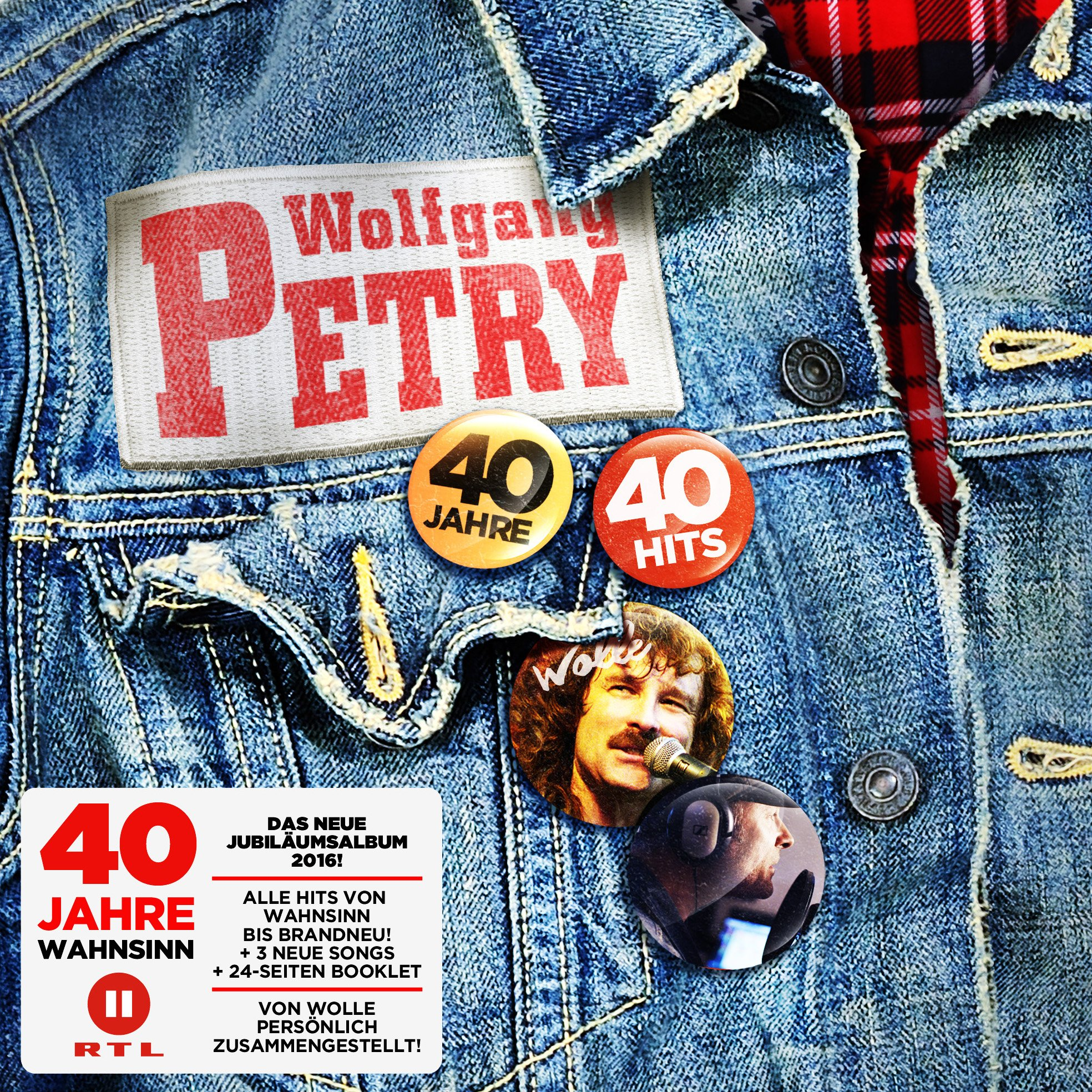 Wolfgang Petry-40 Jahre 40 Hits-DE-2CD-FLAC-2016-VOLDiES Download