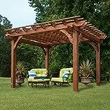 Backyard Discovery Cedar Pergola 12' x 10' Assembly Included