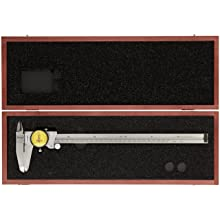 Starrett 120M Series Dial Calipers, Metric, Stainless Steel