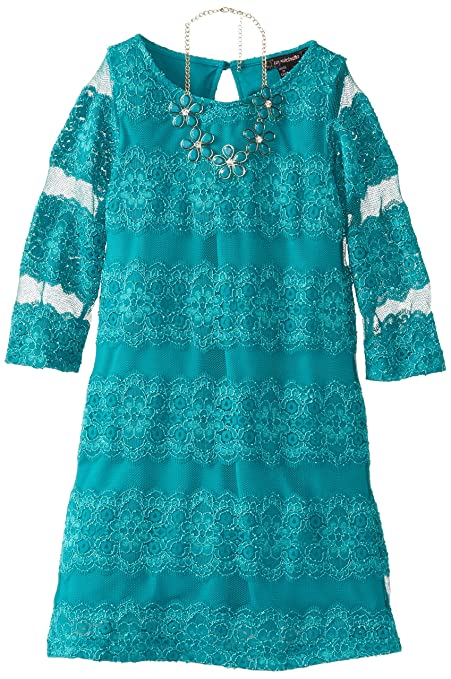 My-Michelle-Big-Girls-Lace-Dress-with-Necklace