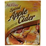 Alpine Spiced Cider Original Apple Flavor Drink Mix , 60 Packets of 0.74-Ounce (Color: Basic, Tamaño: 60 Count)