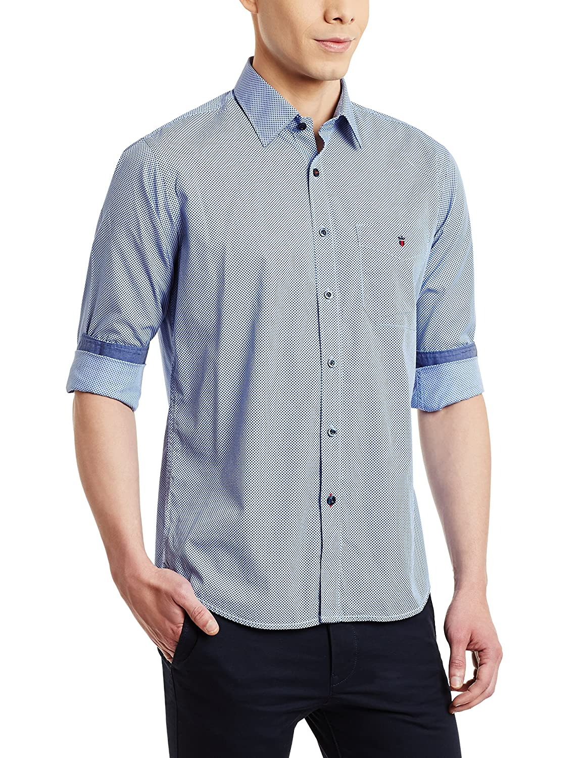 Louis Philippe Men's Casual Shirt