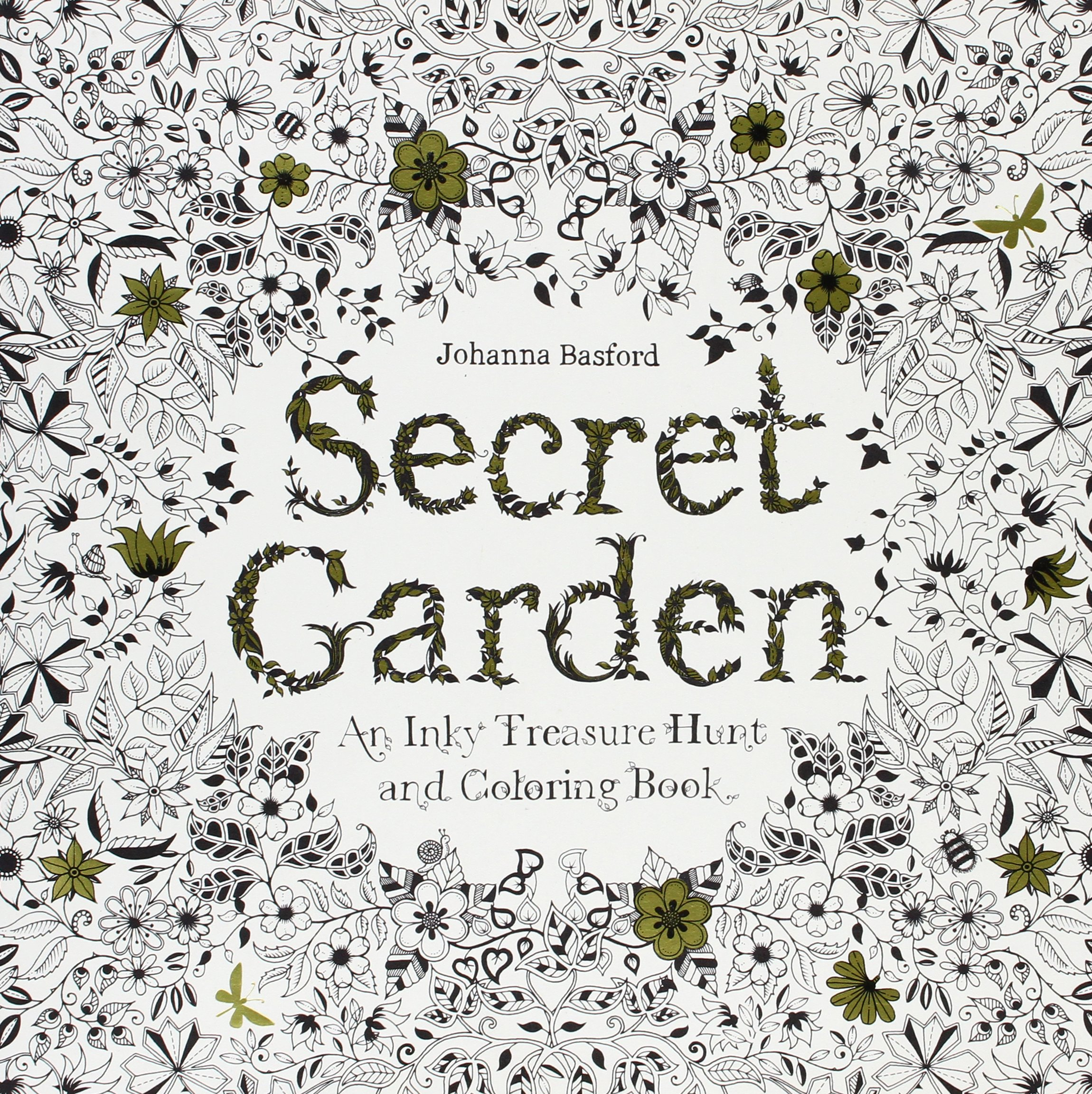 Secret Garden Inky Treasure Hunt