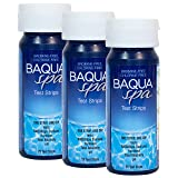 Baqua Spa Test Strips-4 way (25 count) (3 Pack)