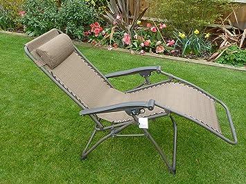 Chaise de jardin relax transat chaise longue for Transat relax de jardin