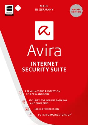 Avira Internet Security Suite 2017 | 1 Device | 1 Year | Download [Online Code]