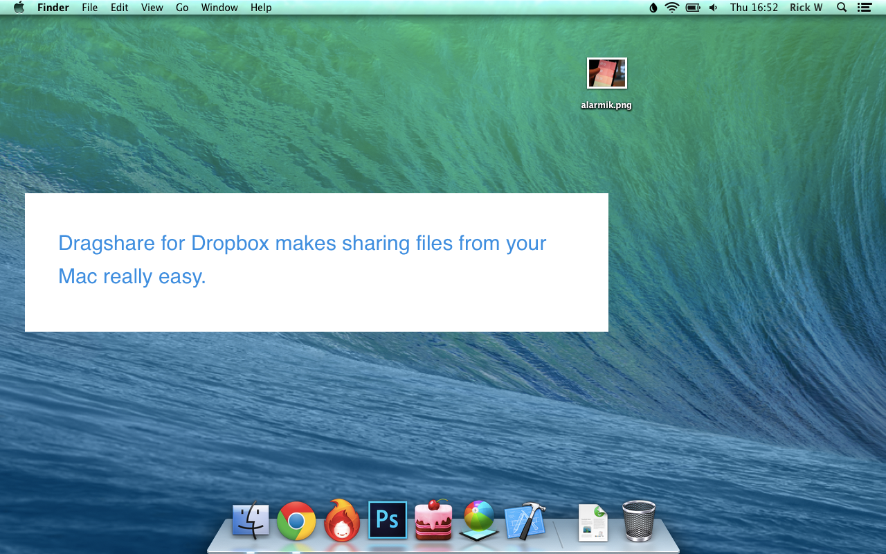 how to use dropbox on mac to share files