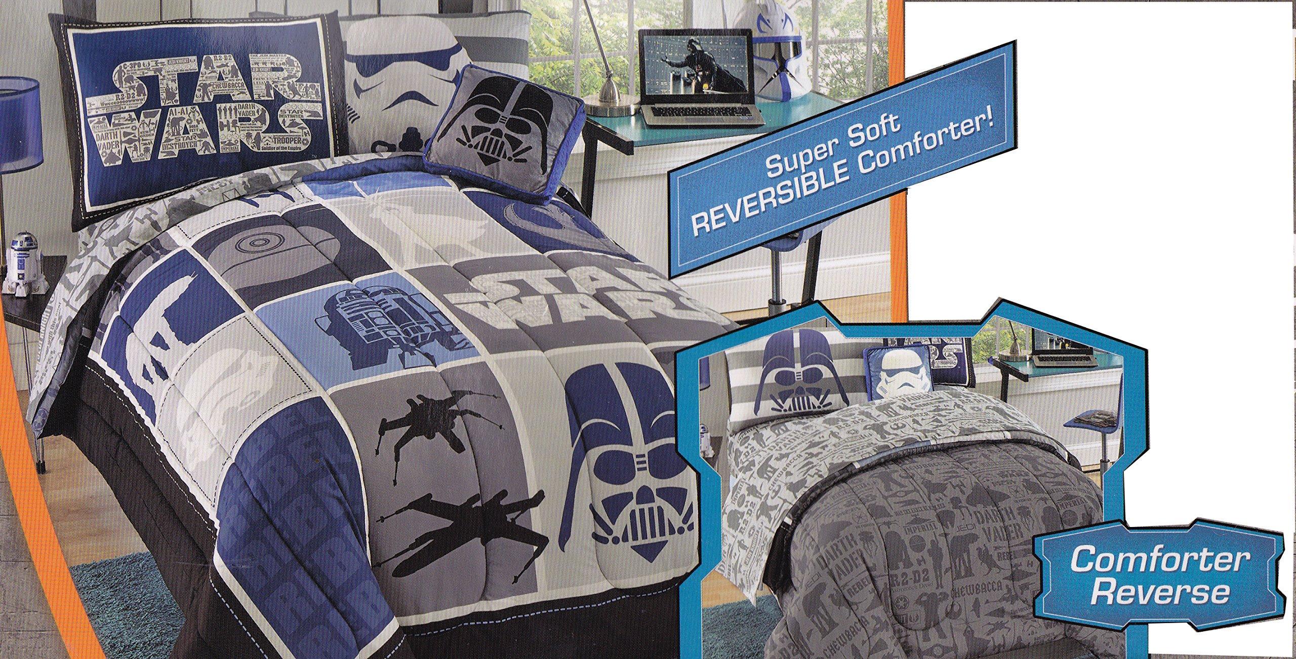 Star Wars 6 Piece Twin Bed Set Ebay