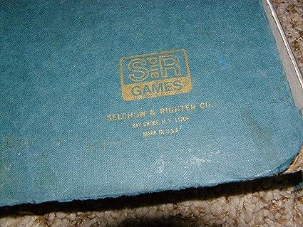Vintage Scrabble Deluxe Game