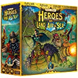 Heroes of Land, Air & Sea UNPAINTED - 4X RTS Large Scale Board Game (Color: Multi-colored)