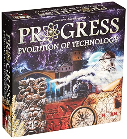 Nskn Legendary Games - 331751 - Jeu De Société - Progress Evolution Of Technology