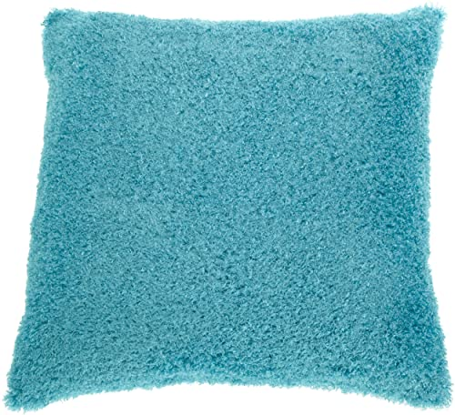 Brentwood Poodle 25 by 25 Floor Cushion, Turquoise