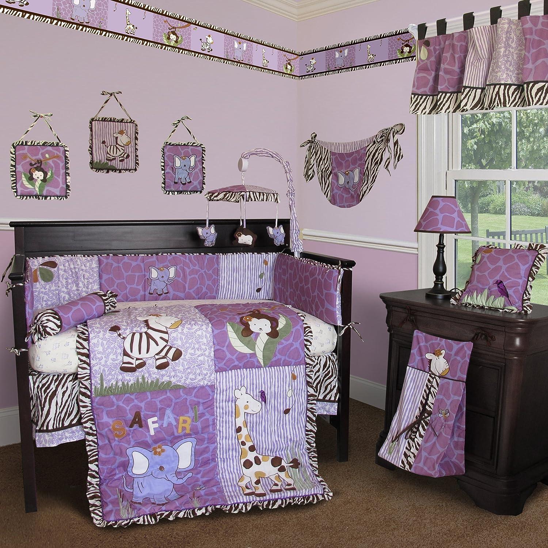 Baby Girl Nursery Purple Bedding