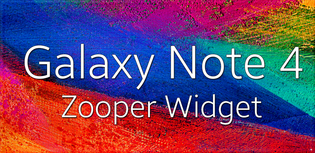 how to change widdgets on note 4