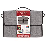 Studio 71 Mixed Media Messenger Bag, 37 Pieces Art Set
